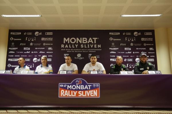 38. Monbat Rally Sliven, PressConference