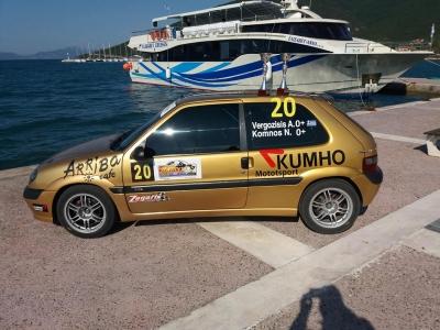 Two crews will represent Greece in Monbat Rally Sliven 2018