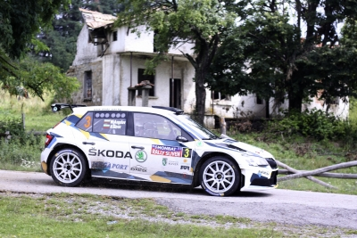 Last year winner with new co-driver in Sliven