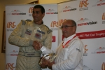 Todor Slavov awarded with the Colin McRae Flat Out Trophy in Rally Sliven