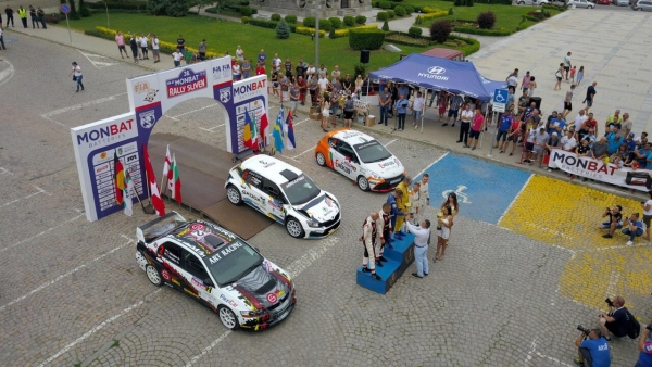 Miroslav Angelov and Edi Sivov won the 38th Monbat Rally Sliven