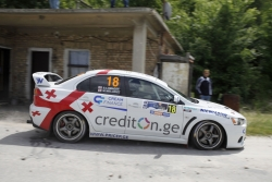 Alexander Lomadze is the next one to start in Rally Sliven 2017