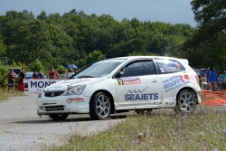 Attractive greek crew with entry for Monbat Rally Sliven 2019