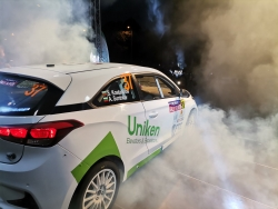 Monbat Rally Sliven started with an opening ceremony