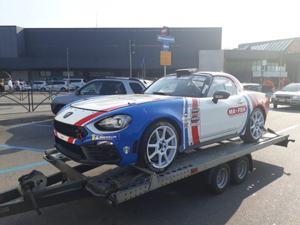 Vlad Cosma will start with FIAT 124 Abarth