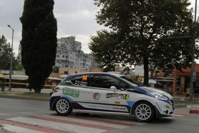 "Daniel Popov returns to rally ""Sliven"""